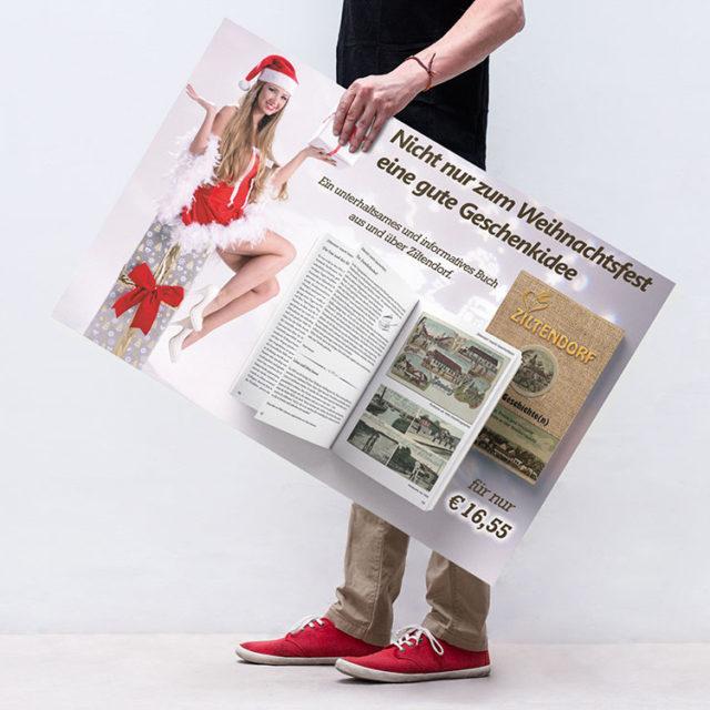 Buch-Werbung