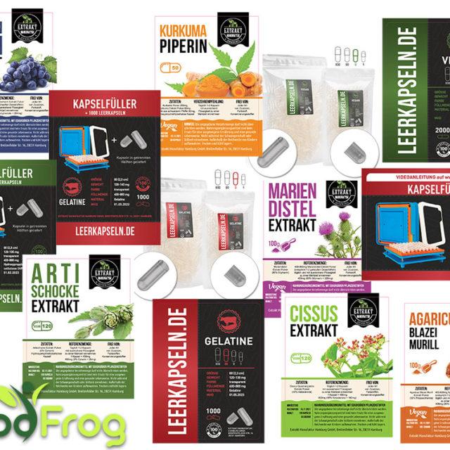 Etiketten- & Produktbild Design